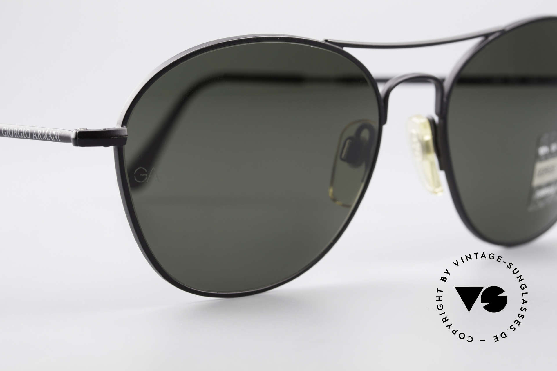 Giorgio Armani 646 Aviator Style Designer Shades, reduced to 199,-€ (tiny scratch on the right lens), Made for Men
