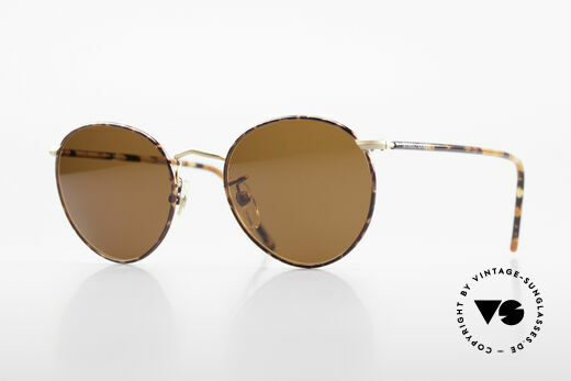 Giorgio Armani 138 Panto Vintage Sunglasses Details