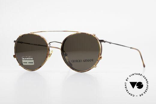 Giorgio Armani 253 Panto Vintage Frame Clip On Details