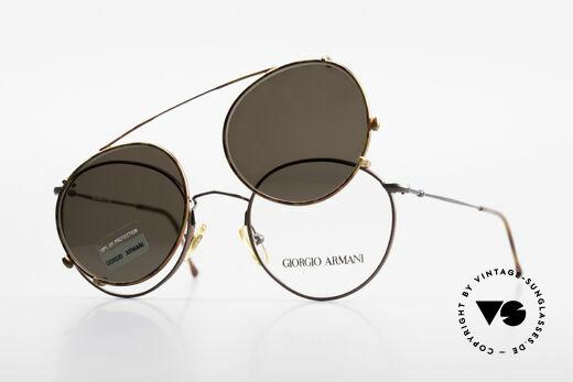 Giorgio Armani 253 Panto Vintage Frame Clip On