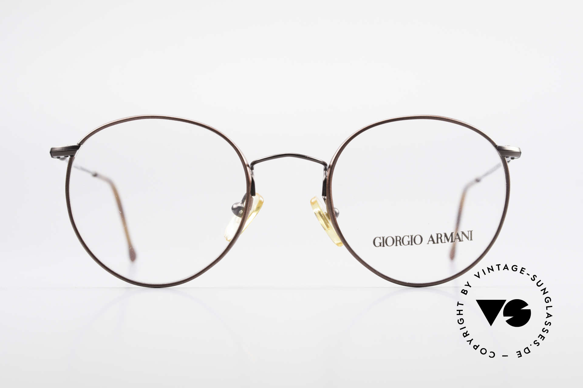 Giorgio Armani 253 Panto Vintage Frame Clip On, Size: small, Made for Men