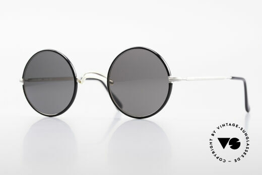 Giorgio Armani 111 Classic Round 80's Sunglasses Details