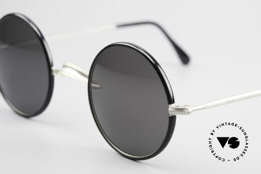 Giorgio Armani 111 Classic Round 80's Sunglasses