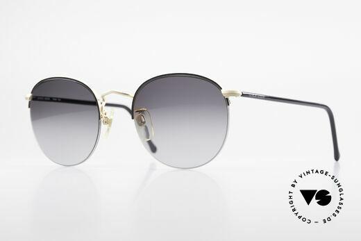 Giorgio Armani 142 Rimless Panto Sunglasses 80's Details