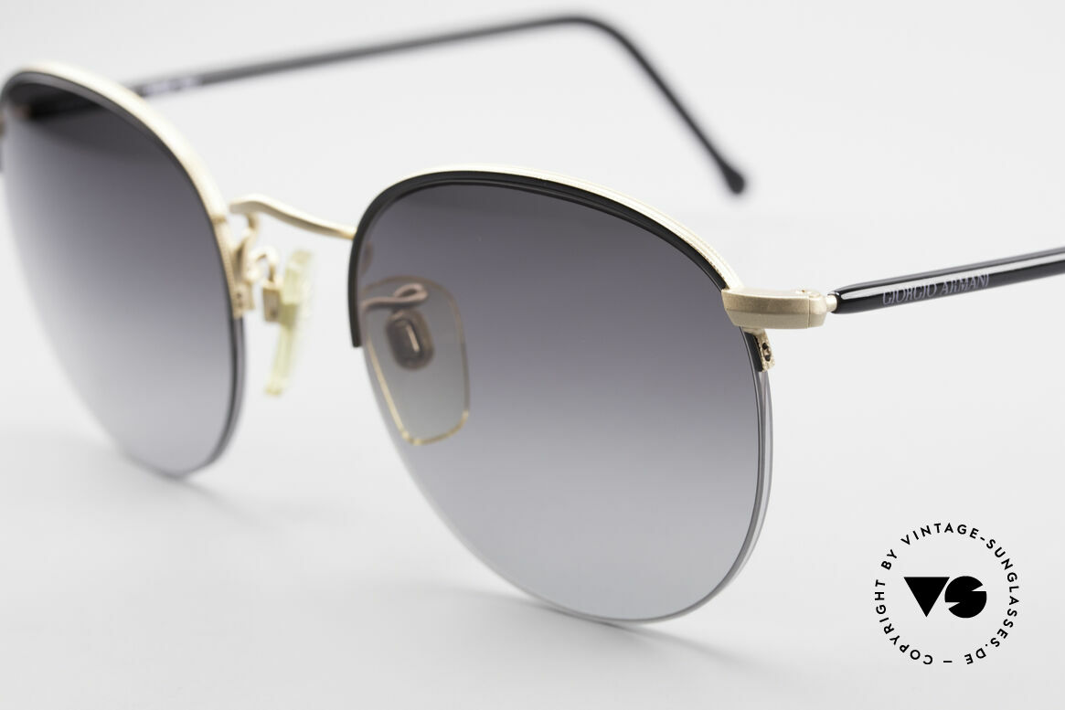 Giorgio Armani 142 Rimless Panto Sunglasses 80's