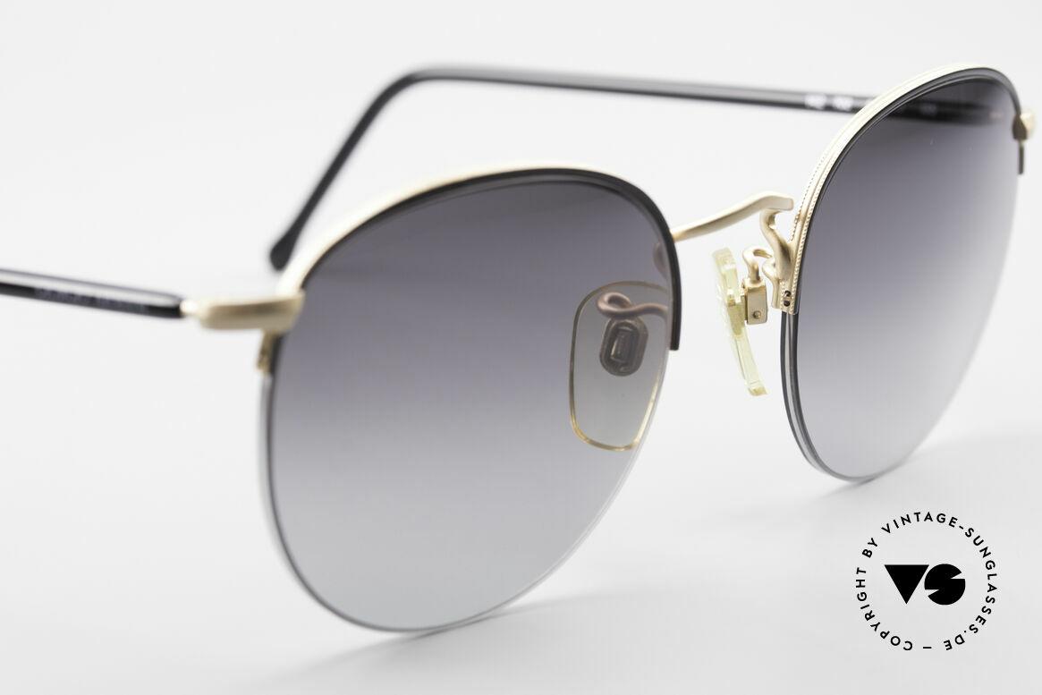 Giorgio Armani 142 Rimless Panto Sunglasses 80's, NO RETRO SUNGLASSES, but true 1980's commodity, Made for Men