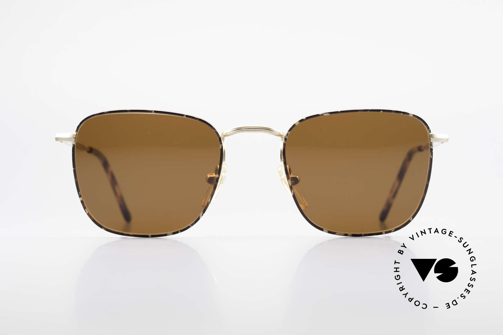 Giorgio Armani 137 Square Panto Vintage Shades, square 'panto' frame design .. a real eyewear classic, Made for Men