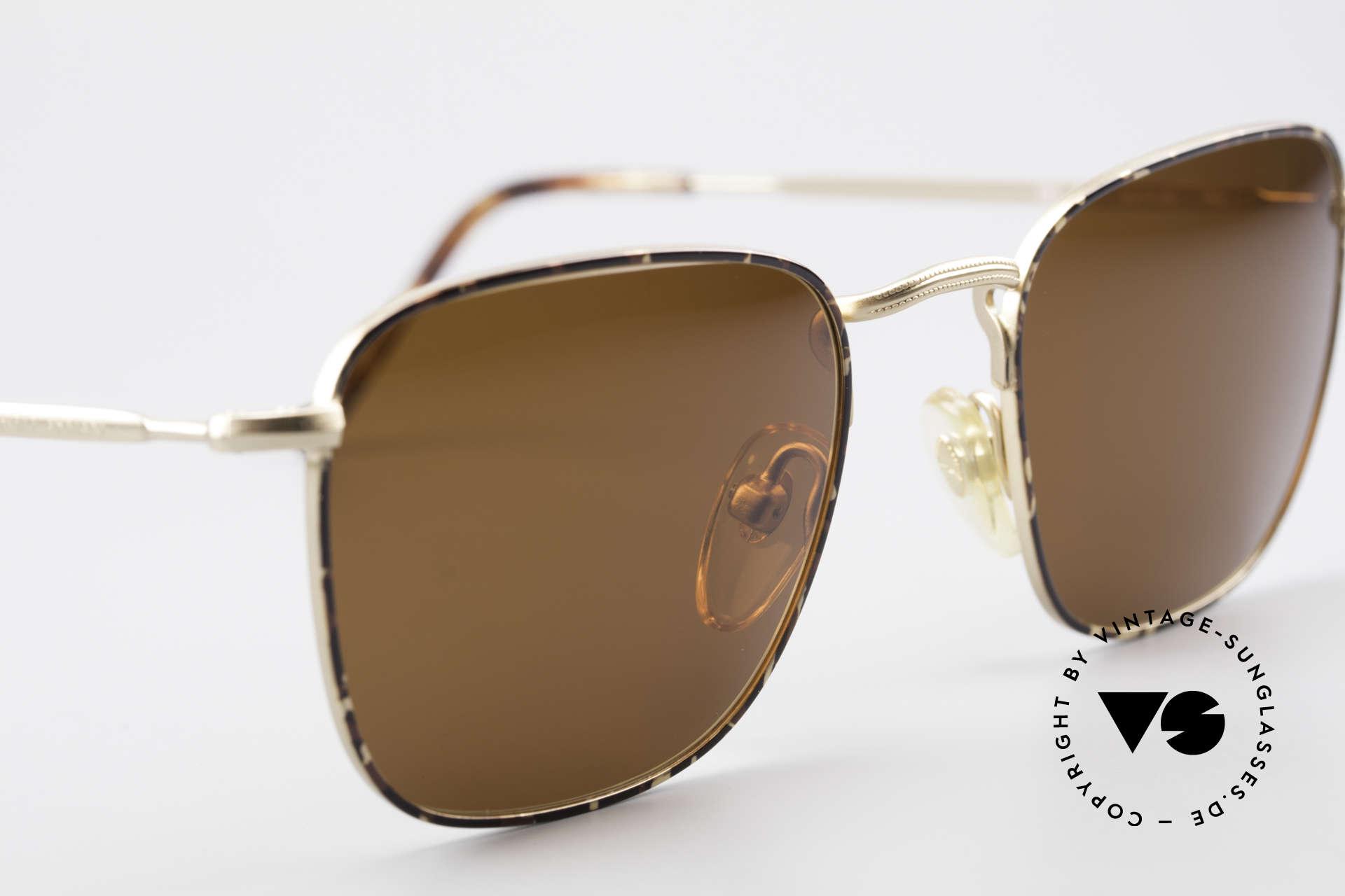 Giorgio Armani 137 Square Panto Vintage Shades, unworn (like all our vintage GIORGIO Armani shades), Made for Men
