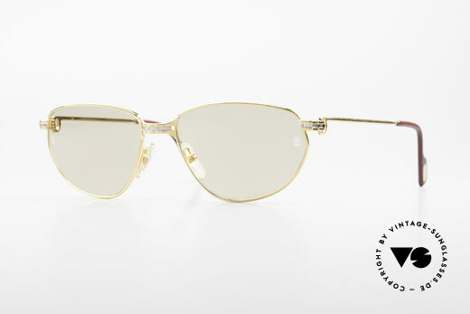 Cartier Panthere Windsor - L 90's Luxury Sunglasses Details
