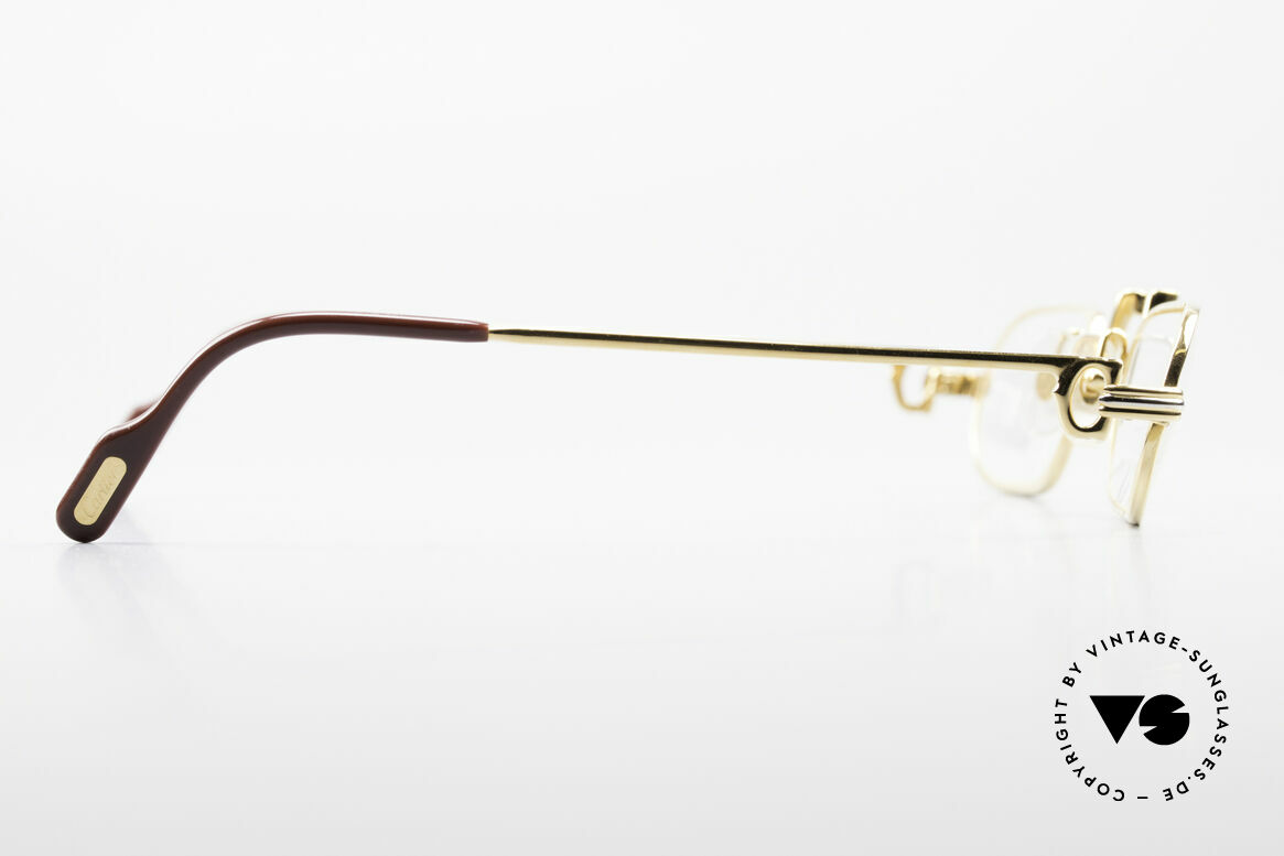 Cartier Demi Lune LC 80's Luxury Reading Glasses