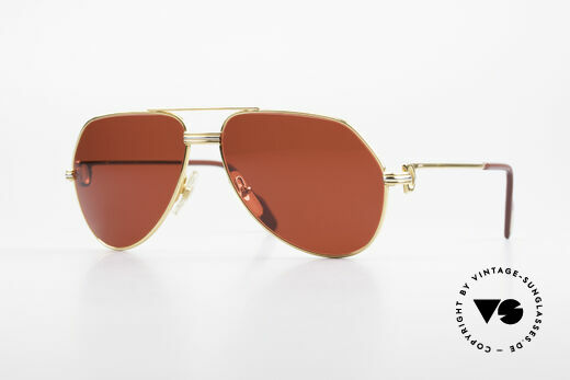Cartier Vendome LC - S David Bowie Sunglasses 80's Details