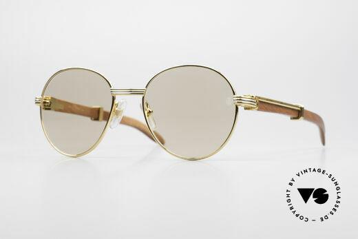 Cartier Bagatelle Bubinga Precious Wood Shades Details