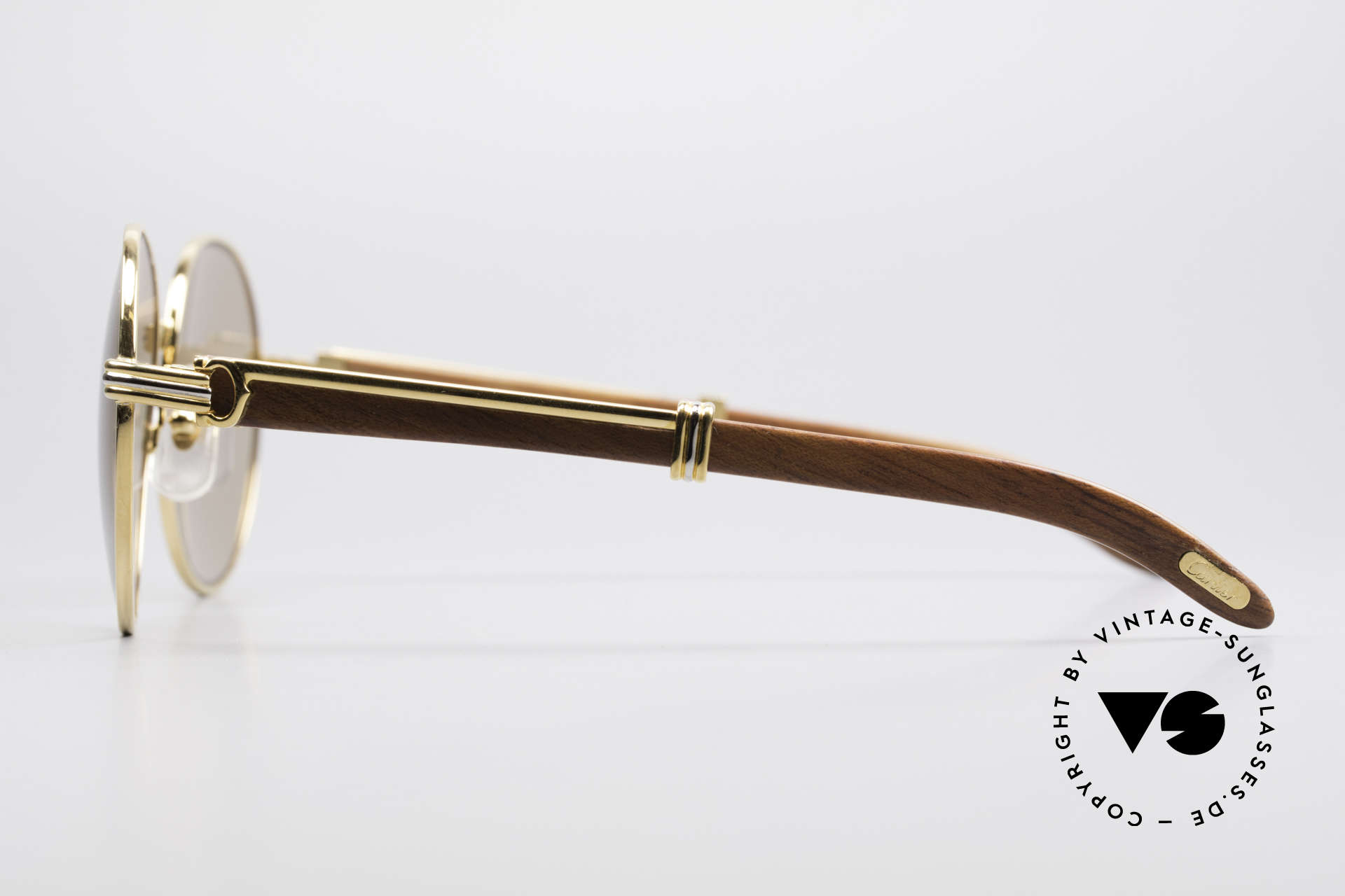 Cartier Bagatelle Bubinga Precious Wood Shades, model of the legendary 'PRECIOUS WOOD' collection, Made for Men and Women