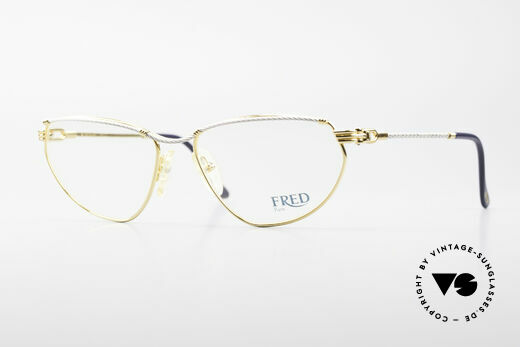 Fred Alize Luxury M Eyeglasses Ladies Details