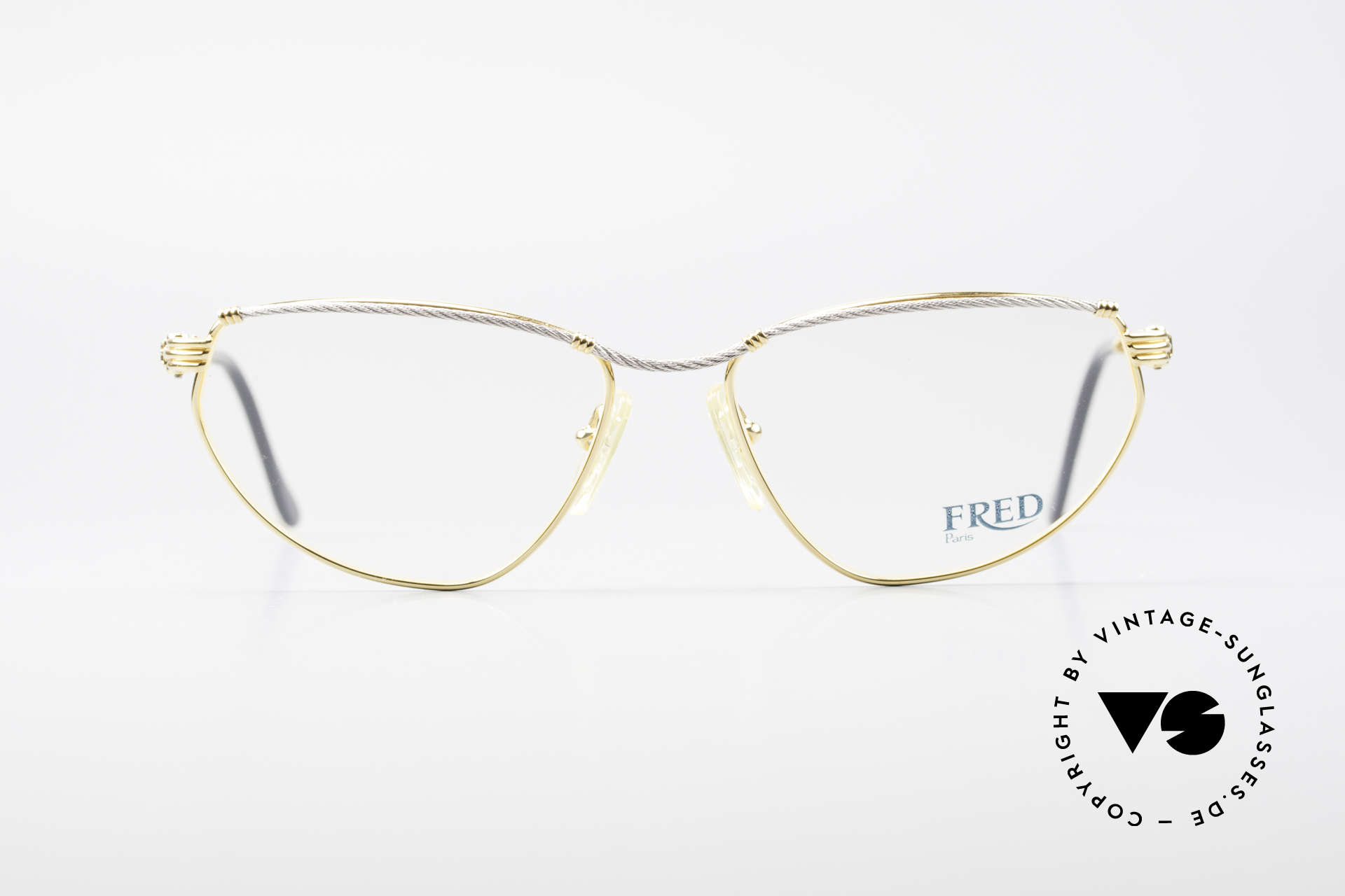 Fred Alize Luxury M Eyeglasses Ladies, marine design (distinctive Fred) in high-end quality, Made for Women