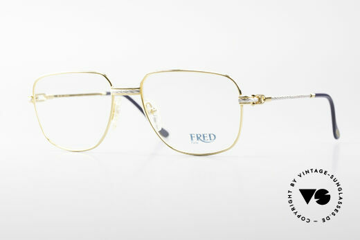 Fred Zephir Luxury Sailing Glasses Men Details