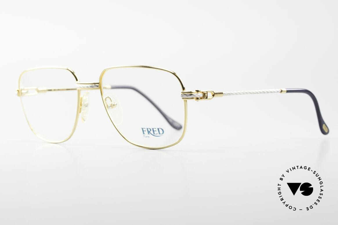 Fred Zephir Luxury Sailing Glasses Men, the name says it all: 'Zephir' = Greek for 'Wind God', Made for Men
