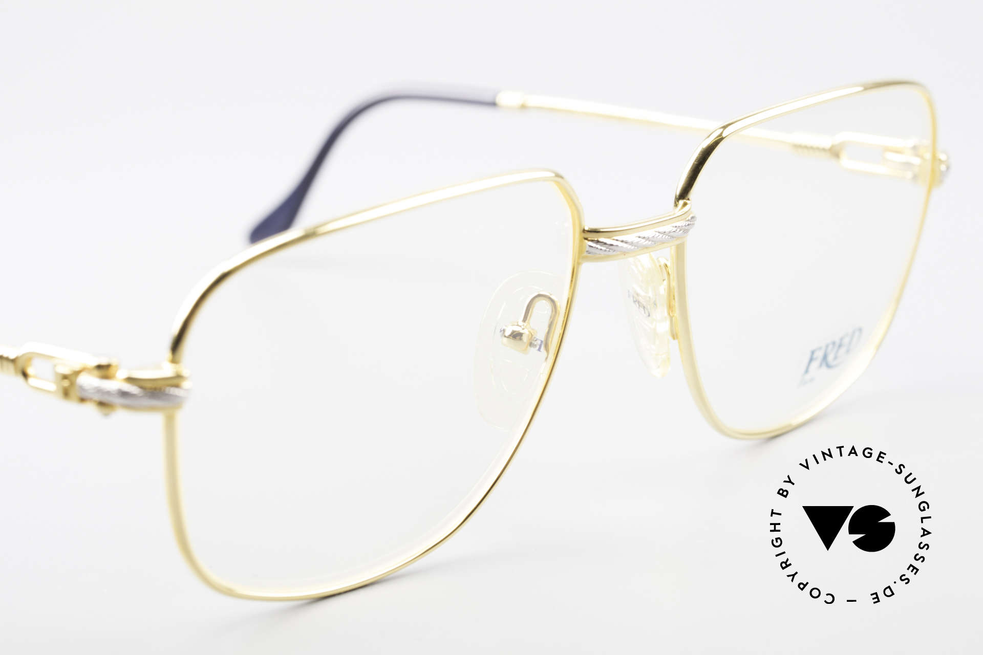 Fred Zephir Luxury Sailing Glasses Men, unworn model (comes with a hard case by Montblanc), Made for Men