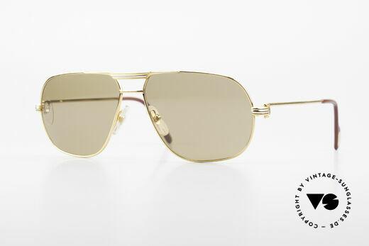 Cartier Tank - M Mystic Cartier Sun Lenses Details