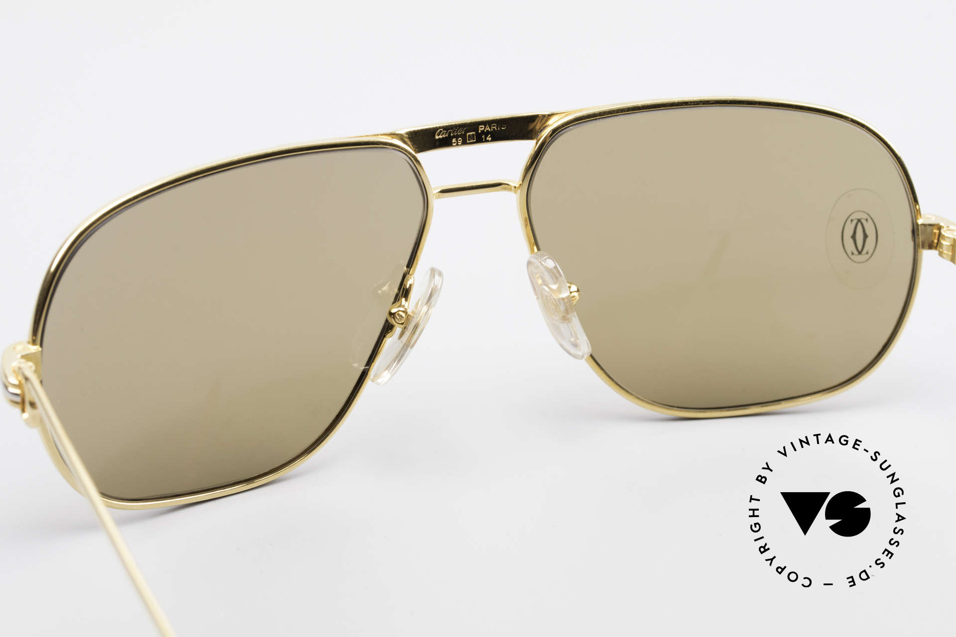 Cartier Tank - M Mystic Cartier Sun Lenses, you must BREATH on the lenses to make the logo VISIBLE, Made for Men