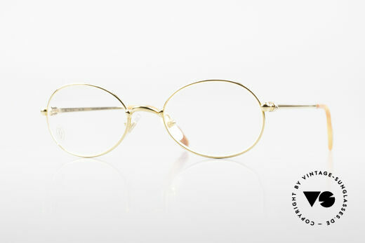 Cartier Saturne - S Small Oval 90's Luxury Frame Details