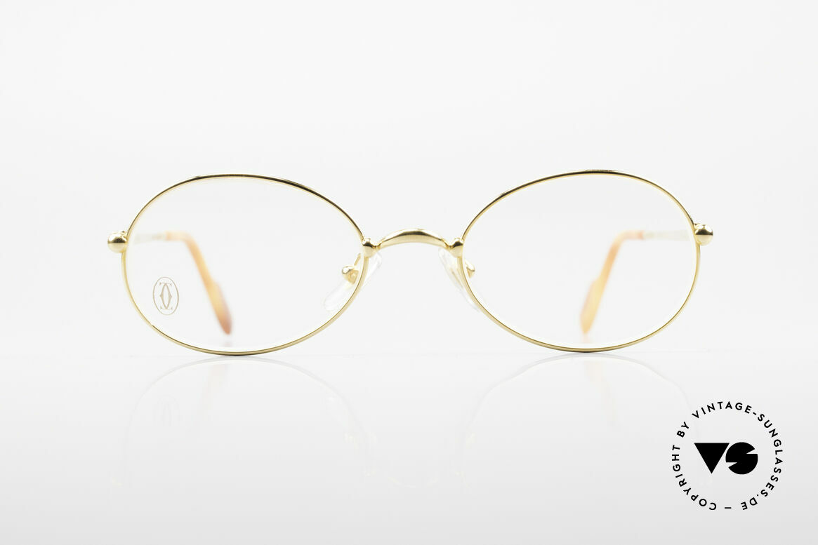 Cartier Saturne Small Oval 90's Luxury Frame