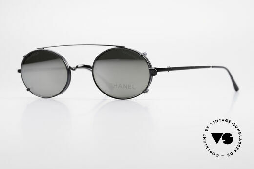 Chanel 2037 Luxury Glasses With Clip On Details
