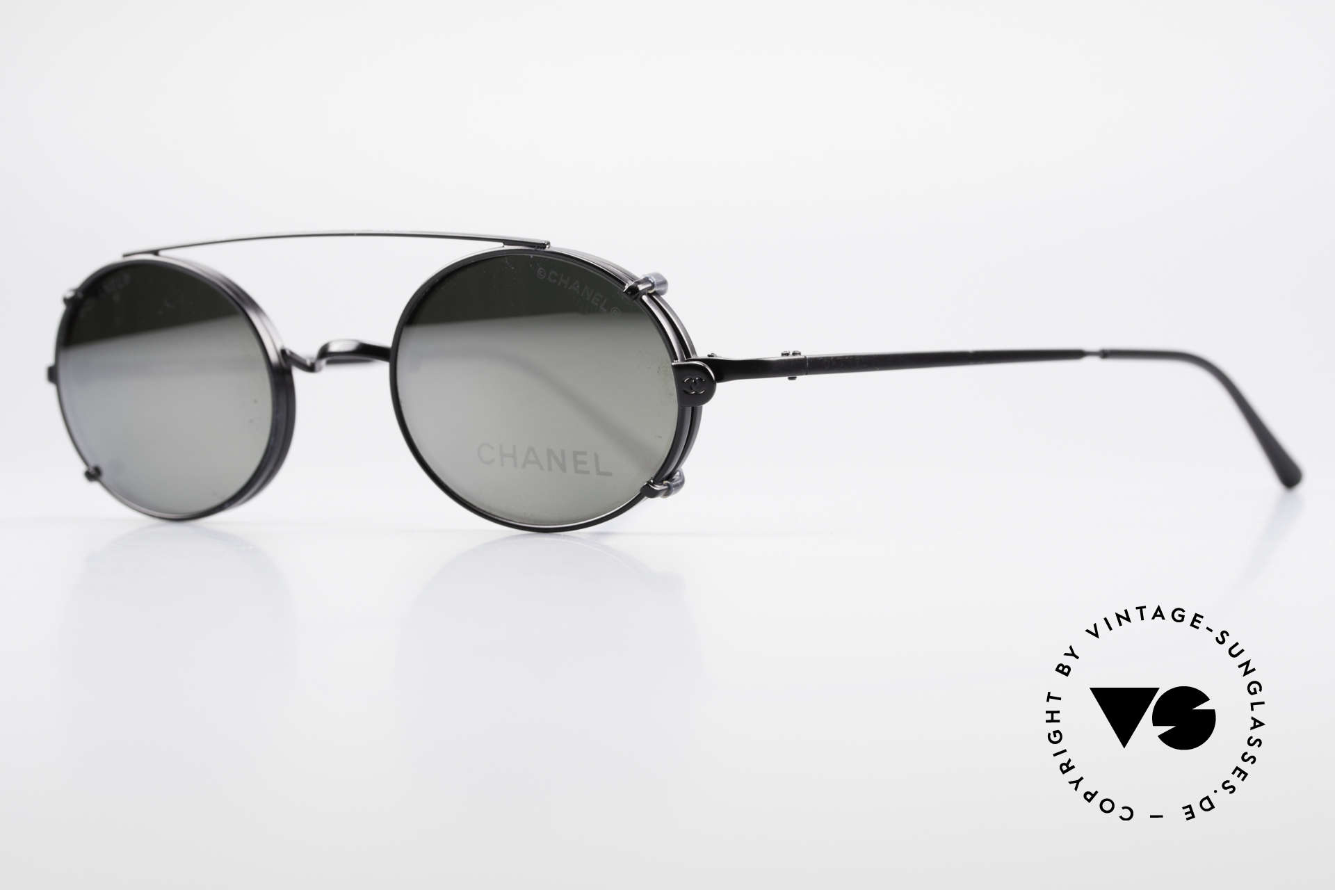 Chanel 2037 Luxury Glasses With Clip On, great combination of 'luxury lifestyle' & functionality, Made for Men and Women