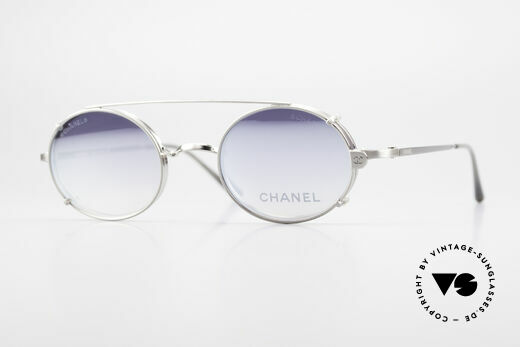 Chanel 2037 Oval Luxury Glasses Clip On Details