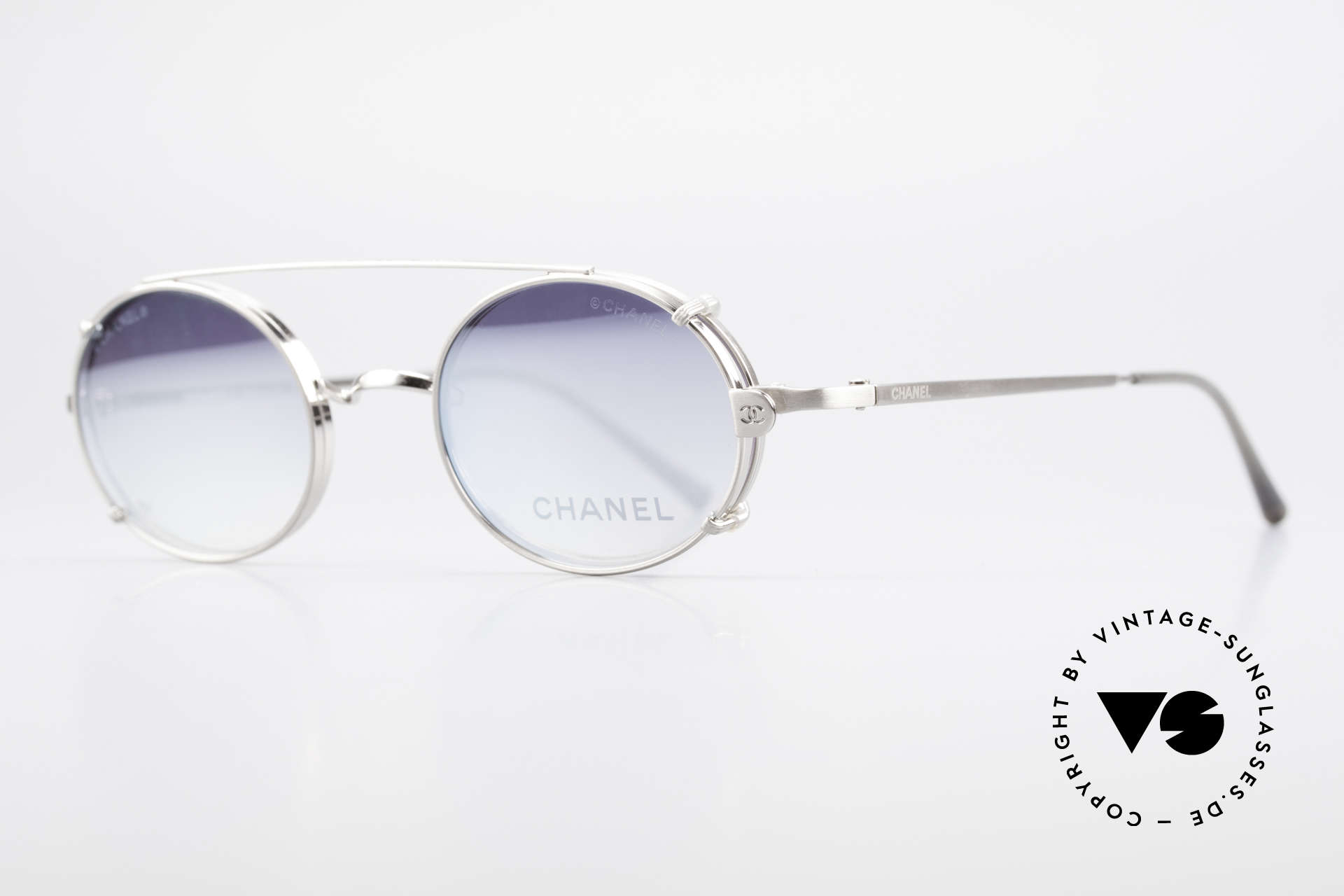 Chanel 2037 Oval Luxury Glasses Clip On, great combination of 'luxury lifestyle' & functionality, Made for Men and Women