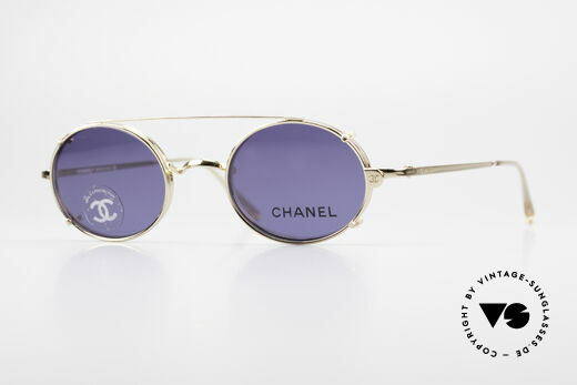 Chanel 2037 Small Luxury Glasses Clip On Details