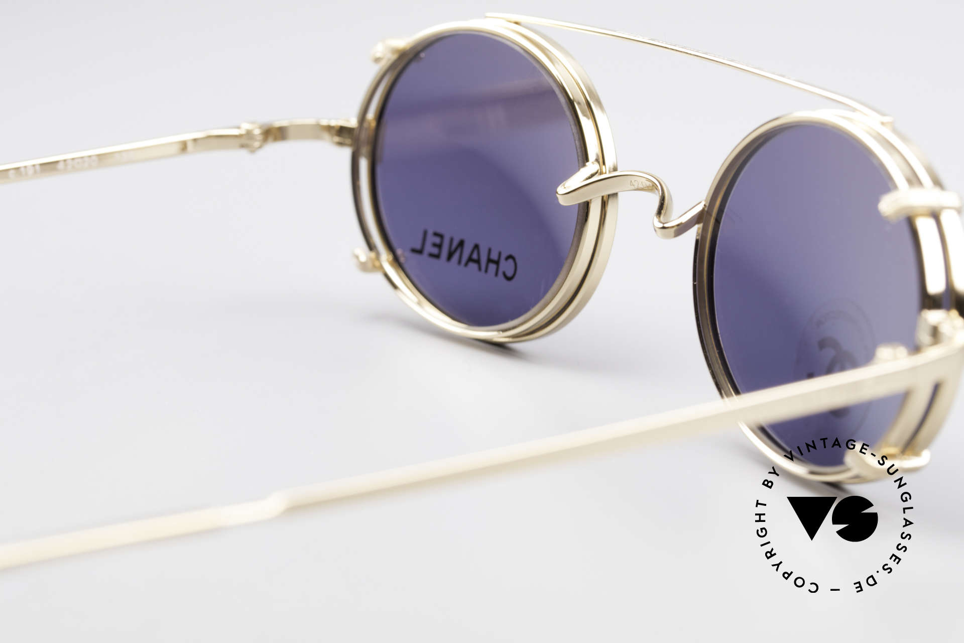 57164322b0 Sunglasses Chanel 2037 Small Luxury Glasses Clip On | Vintage Sunglasses