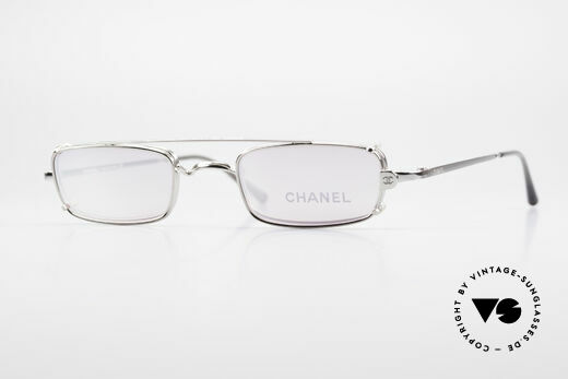 Chanel 2038 Pink Luxury Glasses Clip On Details