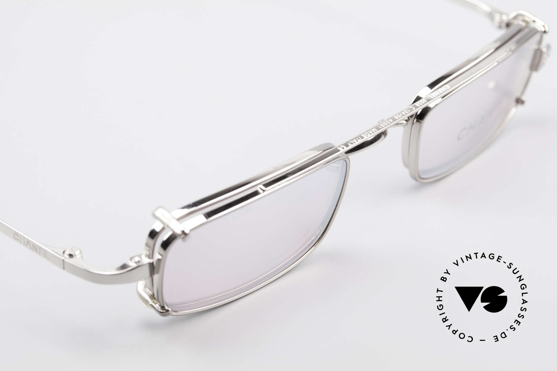 Chanel 2038 Pink Luxury Glasses Clip On, unworn designer shades (incl. original case by Chanel), Made for Women
