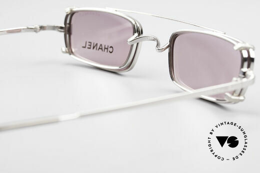 Chanel 2038 Pink Luxury Glasses Clip On, NO RETRO fashion, but a 20 years old vintage Original, Made for Women
