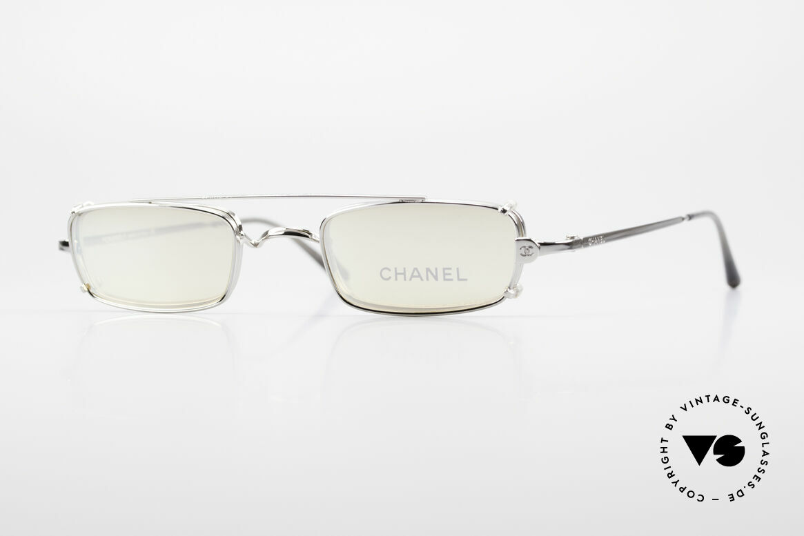 Chanel 2038 Small Luxury Glasses Clip On, CHANEL eyeglass-frame, model 2038, small size 43-21, Made for Men and Women