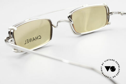 Chanel 2038 Small Luxury Glasses Clip On, NO RETRO fashion, but a 20 years old vintage Original, Made for Men and Women