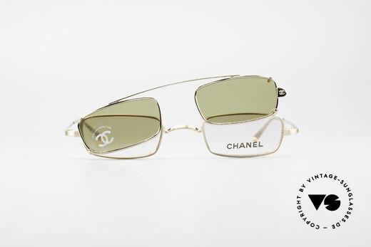 Chanel 2038 Unisex Luxury Glasses Clip On