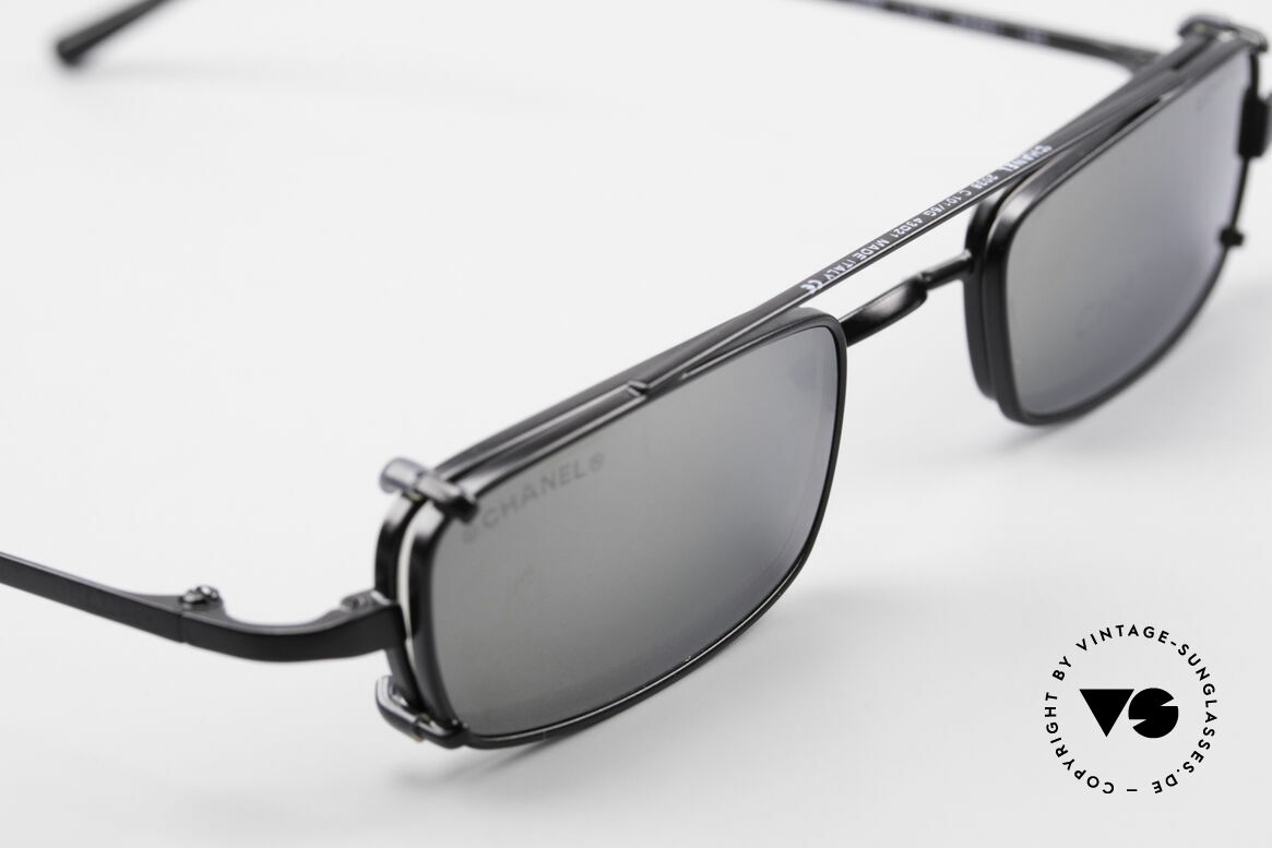 Chanel 2038 Luxury Glasses With Clip On, unworn designer shades (incl. original case by Chanel), Made for Men and Women