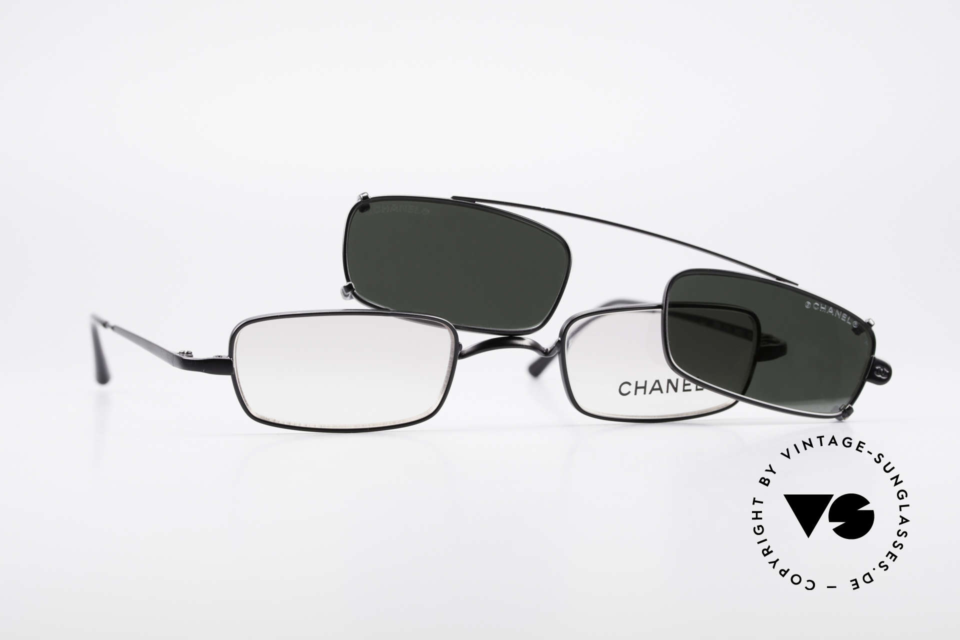 Chanel 2038 Luxury Glasses With Clip On, Size: small, Made for Men and Women