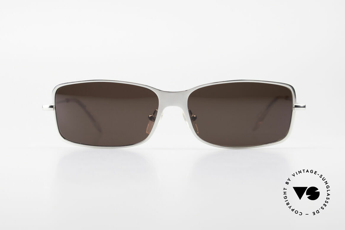 Helmut Lang SHL53B Puristic Titanium Sunglasses, stylish, elegant, puristic, functional, timeless, LANG, Made for Men