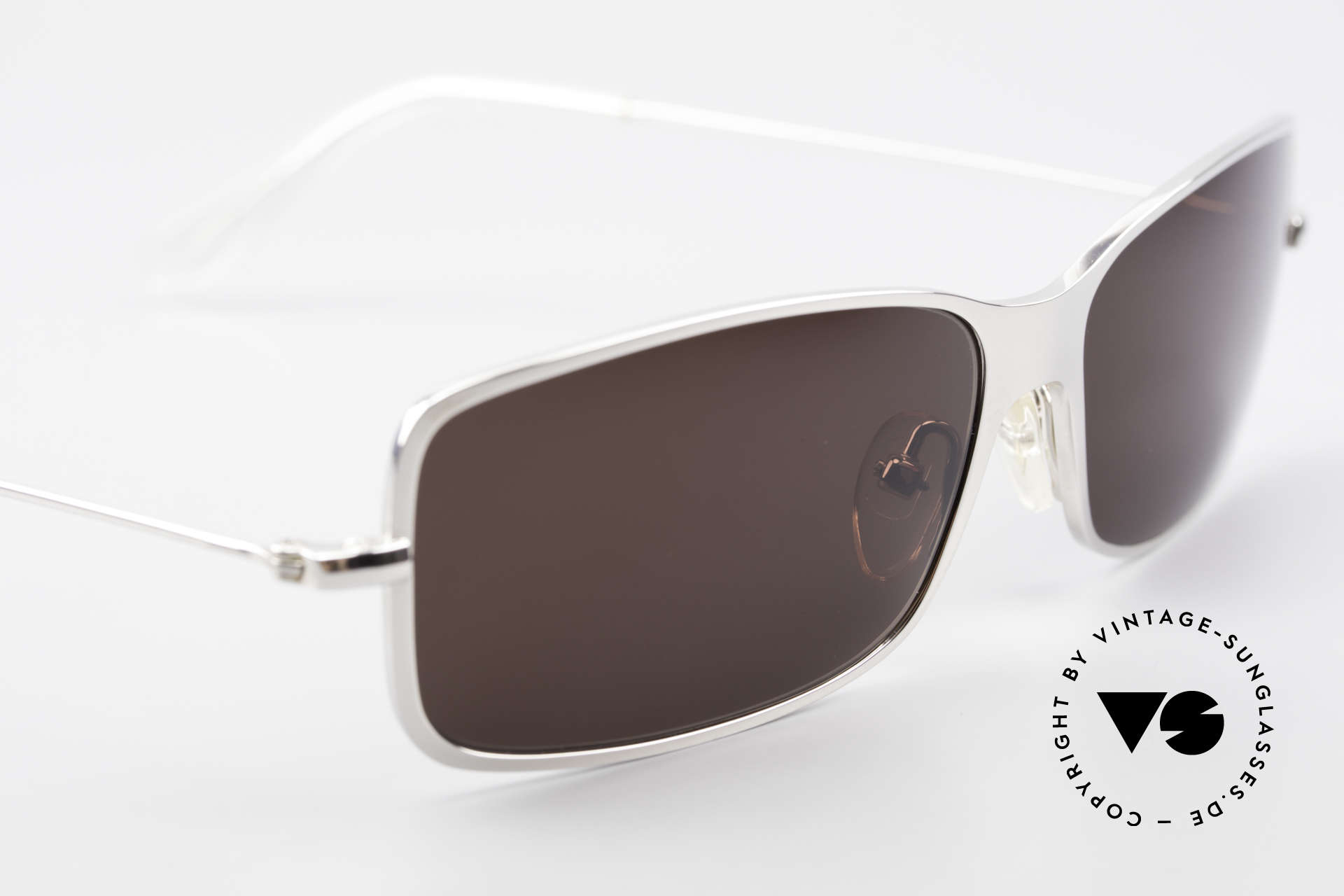 Helmut Lang SHL53B Puristic Titanium Sunglasses, NO RETRO SUNGLASSES, but a 20 years old ORIGINAL, Made for Men