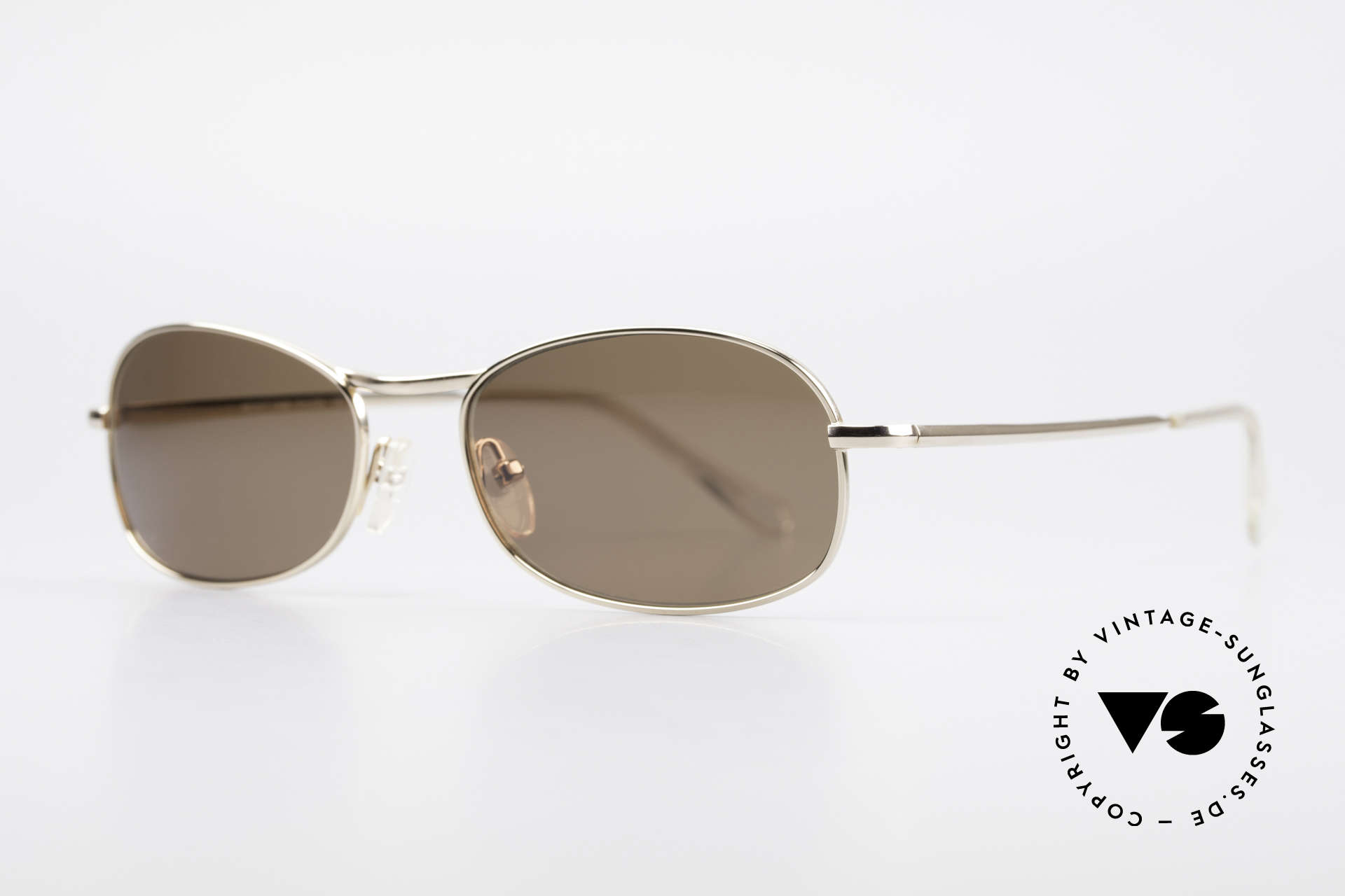 "Helmut Lang SHL53A Minimalist Titanium Shades, truly iconic ""Insider Sunglasses"" for all avant-gardist, Made for Men"