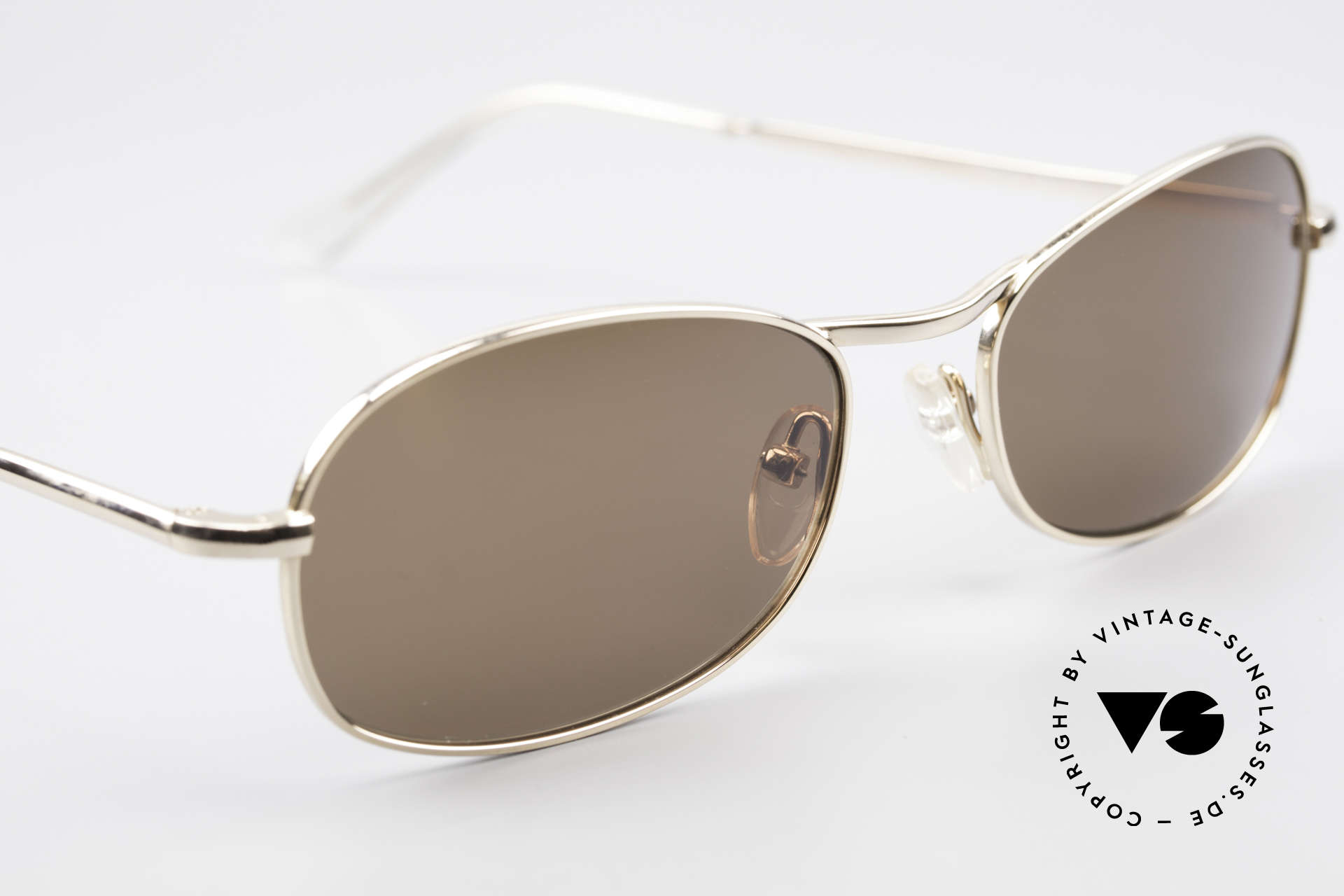 Helmut Lang SHL53A Minimalist Titanium Shades, never worn (like all our vintage HELMUT LANG shades), Made for Men