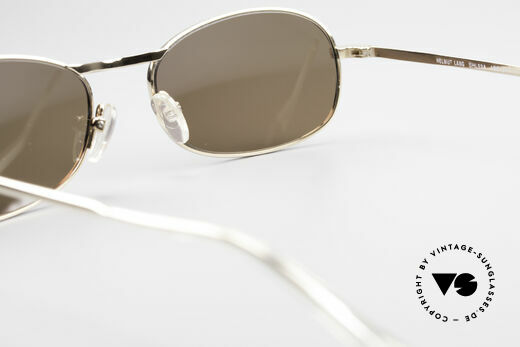 Helmut Lang SHL53A Minimalist Titanium Shades, NO RETRO SUNGLASSES, but a 20 years old ORIGINAL, Made for Men