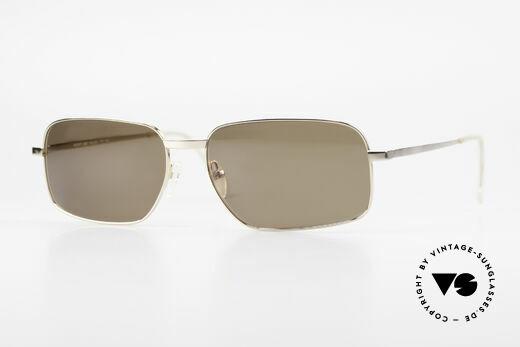 Helmut Lang SHL62A Stylish Titanium Sunglasses Details