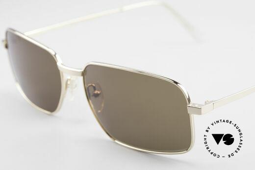 Helmut Lang SHL62A Stylish Titanium Sunglasses