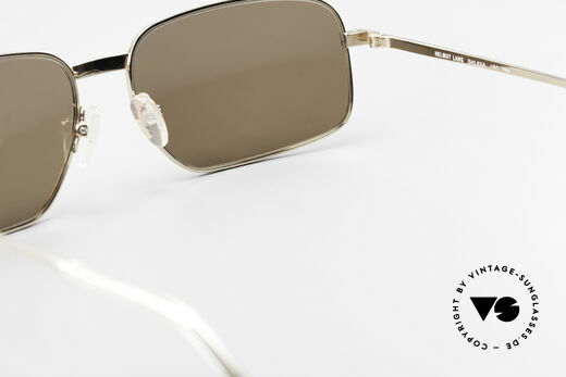 Helmut Lang SHL62A Stylish Titanium Sunglasses, NO RETRO SUNGLASSES, but a 20 years old ORIGINAL, Made for Men