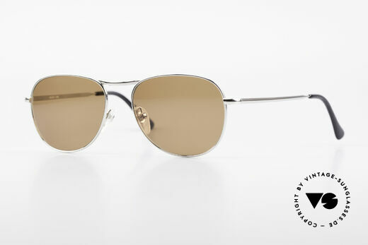 Helmut Lang 21-0006 Titanium Sunglasses Timeless Details