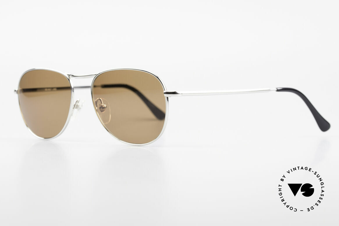 """Helmut Lang 21-0006 Titanium Sunglasses Timeless, truly iconic """"Insider Sunglasses"""" for all avant-gardist, Made for Men"""
